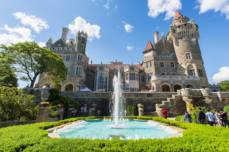 Casa Loma Rear View by saebaryo, on Flickr
