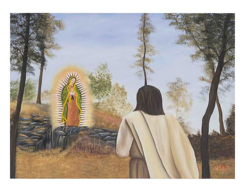 Autor: LUIS CARLOS PEREZ NAVARRETE, El milagro más hermoso  70x50 cm