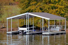 Boat Docks- Double Slip & Gable Roof