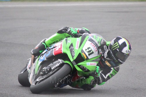 Leon Haslam in World Superbikes at Donington Park, May 2017