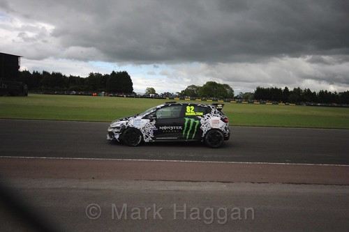 Nicolas Hamilton in the Renault Clio Cup during the BTCC weekend at Croft, June 2017