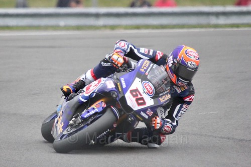 Michael van der Mark in World Superbikes at Donington Park, May 2017