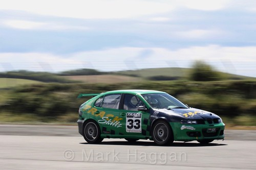 Donal O'Neill in the Libre Saloons championship at Kirkistown, June 2017