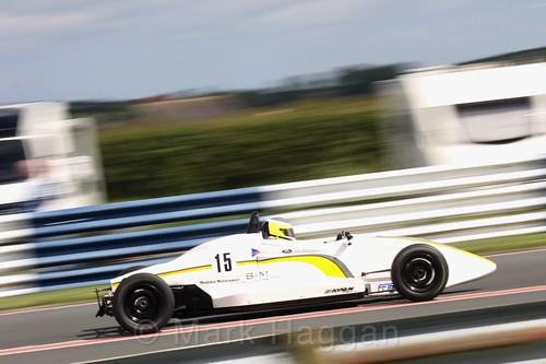 David Mcarthur in the Formula Ford FF1600 championship at Kirkistown, June 2017