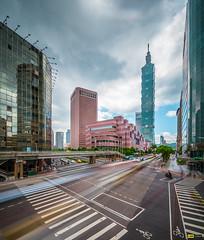 Taipei 101 Long Exposure