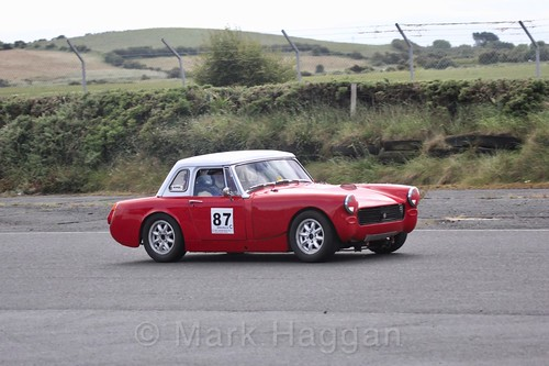 Ken McAvoy in the HRCA Historic Sports Cars at Kirkistown, June 2017