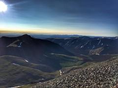 San Luis Peak summit view to the east