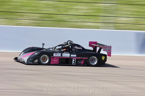 Adam Dale in the Excool BRSCC OSS Championship at Rockingham, June 2017