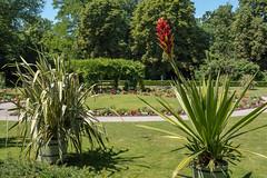 """Potsdam, Neuer Garten: Garten an der Orangerie - Garden next to the Orangery in the """"New Garden"""""""
