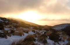 Sunset Over The Ranges