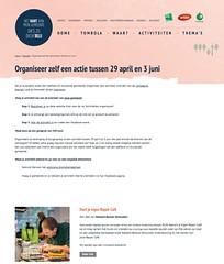 Snapshot Organiseer zelf een actie tussen 29 april en 3 juni | Zo Dichtblij 83jas