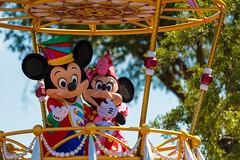 High-flying fun with Mickey & Minnie