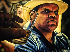 Whiskey with Netflix Narcos