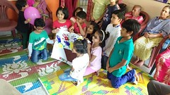 The kids from Maple Bear Canadian Pre School, RR Nagar visited our Home