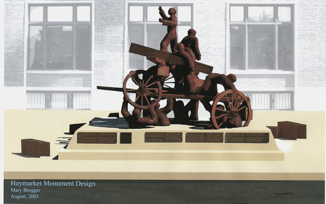 Haymarket Monument Design, Mary Brogger, 2003