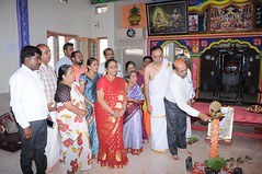 A Longest Duration Audio DVD SRI GURUSAMHITAA, Sung By Chinmaya M.Rao Releasing Event Photos (56)