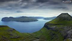 View from Skeiðsskarð above Vágafjørður
