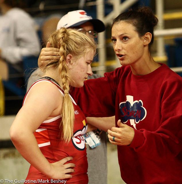 164 Erin Bersie and coach Kelli Rasmussen- 170720cmk0007