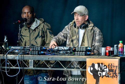 Rodney P and Skitz at Nozstock 2017