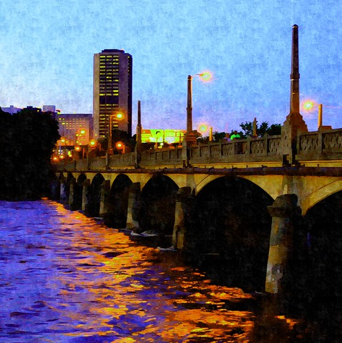 Mayo Bridge Evening