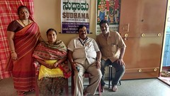 Mr and Mrs Prakash to visit our Sudhama and arrange lunch at Sudhama