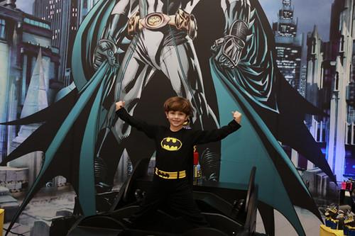 O super herói Davi