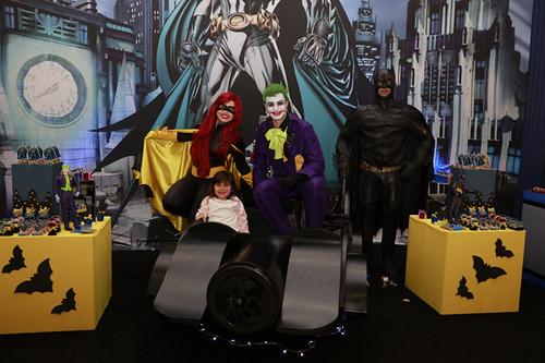 Os super heróis da Mimos fizeram parte do cenário que encantou as crianças e adultos