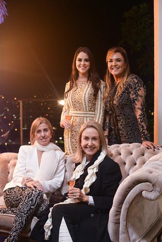 Luisa e Vanda, Zilma Assef e Raquel de Carvalho