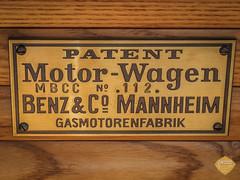 Benz Patent Motorwagen 1886