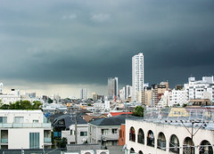 Clouds over Tokyo