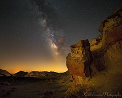 Red Rock Canyon & Milky Way 4675 © Keith Breazeal