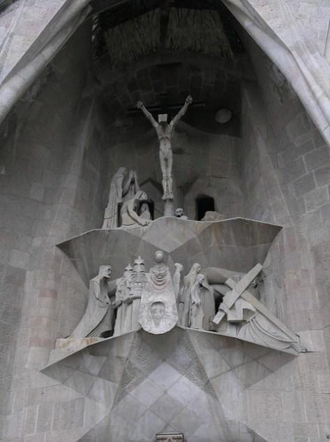 Barcelona Sagrada Familia s facade detail2