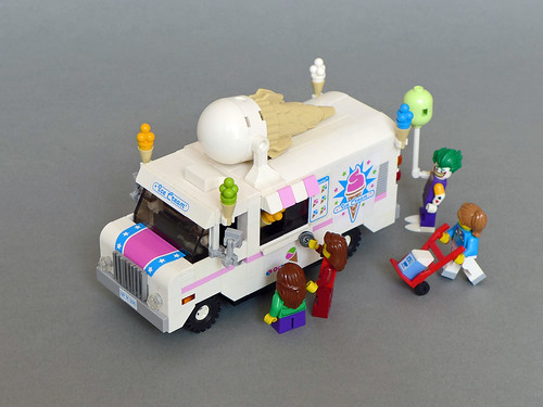 Lego Ice Cream Truck Ice Cream Van  70804 MOD    a photo on Flickriver Lego Ice Cream Truck Ice Cream Van  70804 MOD