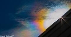 Color spectrum from eclipse in Colorado