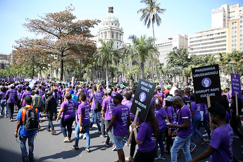 Silent Protest 2017: Durban, South Africa