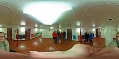 Hanse Sail 2017 - Fahrt mit der Dar Młodzieży 360 Grad