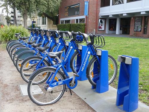 bikes victoriancollegeofthearts melbourne victoria australia