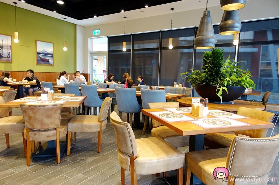 [中壢美食]Roots Café.華泰名品城店~ 加拿大品牌Roots複合式咖啡館.沒吃不會後悔 @VIVIYU小世界