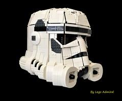 Wearable Lego Stormtrooper Helmet