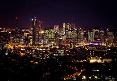 Brisbane, evening skyline