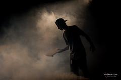 foggy man