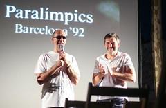 'Jordi Marí, Tiana està amb tu'. 25 anys després. 🏊 #Tiana #Paralímpics92 #Bcn92