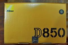 Nikon D850外箱