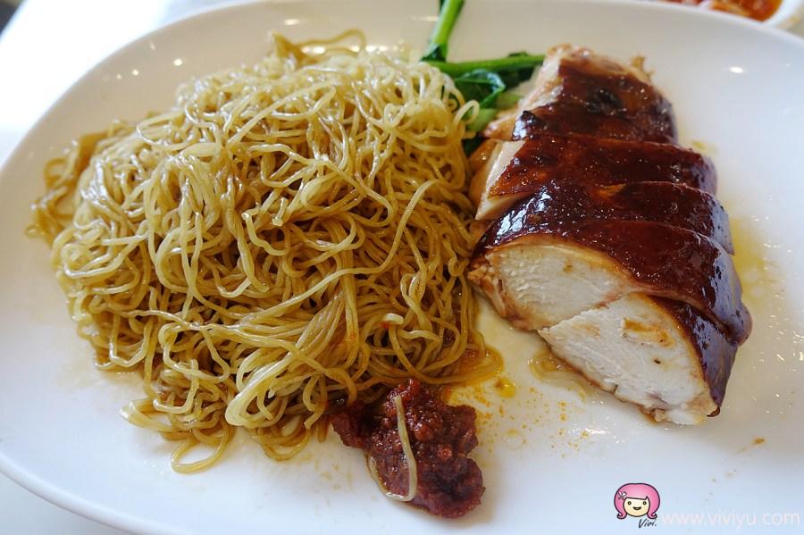 了凡,了凡香港油雞飯麵,台北火車站,台北美食,新加坡美食,米其林 @VIVIYU小世界