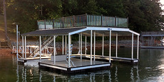 Upper Deck Boat Dock