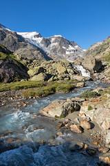 Am Sustenpass, Steingletscher, Schweiz