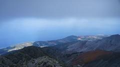 Vedere spre nord de sub cusma norului