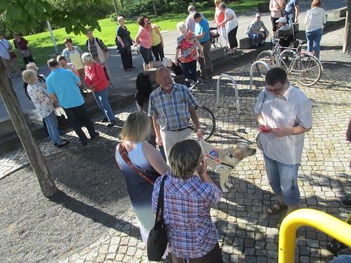 """Tagesfahrt nach Dresden die gläserne Manufaktur und dann mit dem Dampfer die Elbe rauf • <a style=""""font-size:0.8em;"""" href=""""http://www.flickr.com/photos/154440826@N06/36372183573/"""" target=""""_blank"""">View on Flickr</a>"""