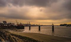 cloudy Antwerp(Belgium)
