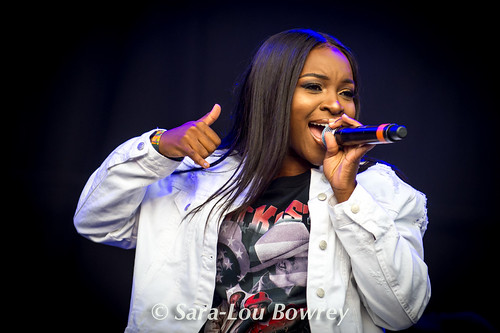 Ray BLK at Bestival 2017